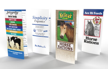 various product brochures